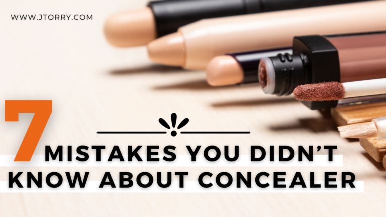 7 Mistakes You Didn't Know About Concealer